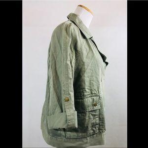 8072e2fa3b2fb LOFT Jackets & Coats - Ann Taylor LOFT Military Utility Anorak Zip Jacket